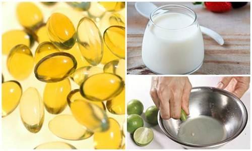 cách trắng da bằng Vitamin E