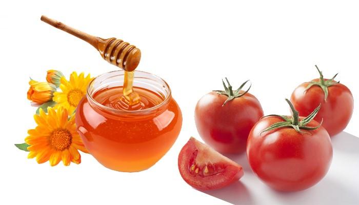 cách trắng da bằng cà chua