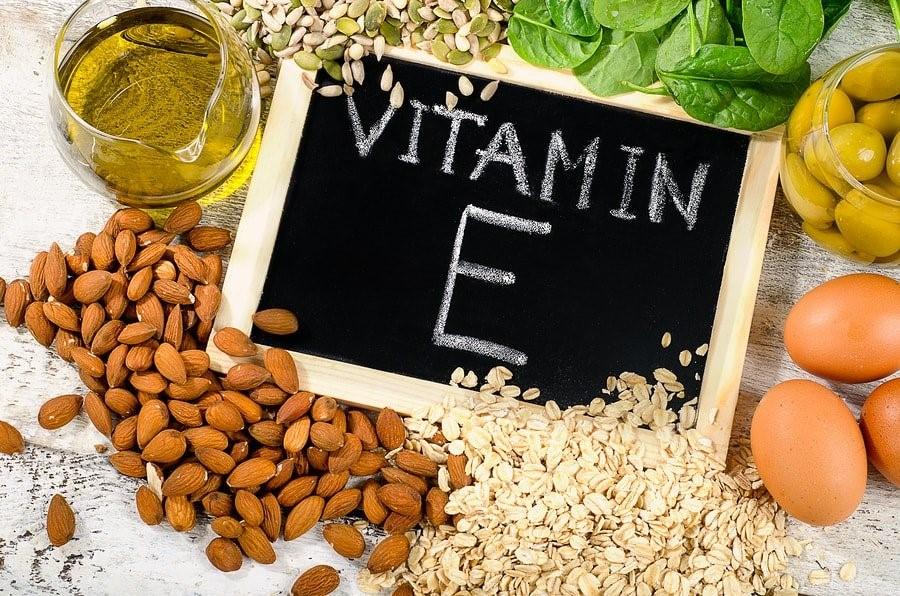 cách trắng da từ Vitamin E